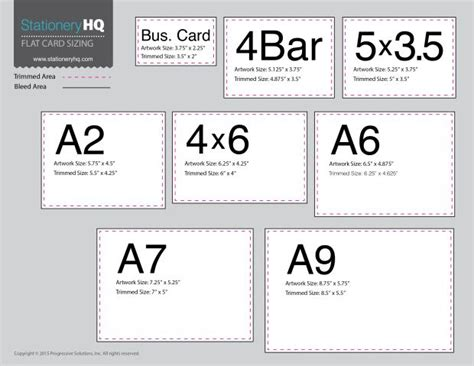 Flat Card Size Chart Templates Thank You Card Size Wedding Invitation Size Invitation Sizes Card Size Template