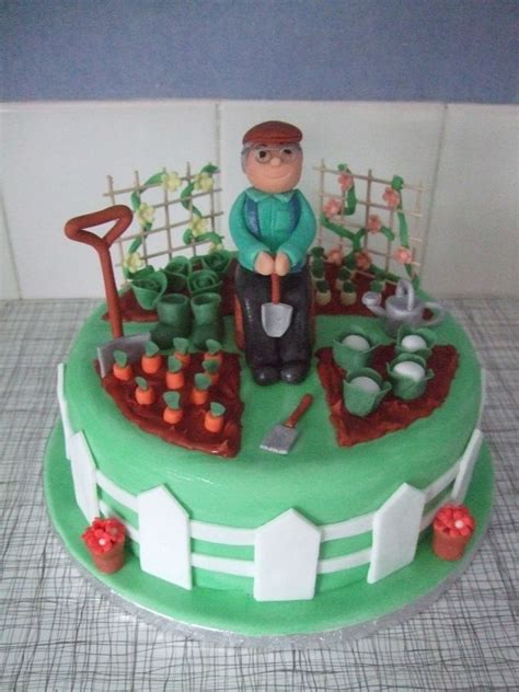 garden birthday cakes ideas garden birthday cakes peggy s 80th birthday ideas