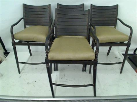 Hton Bay Patio Chairs High Dining Patio Chairs Mfg Corp High Back Patio Dining Chair Lowe S Canada Outdoor Furniture