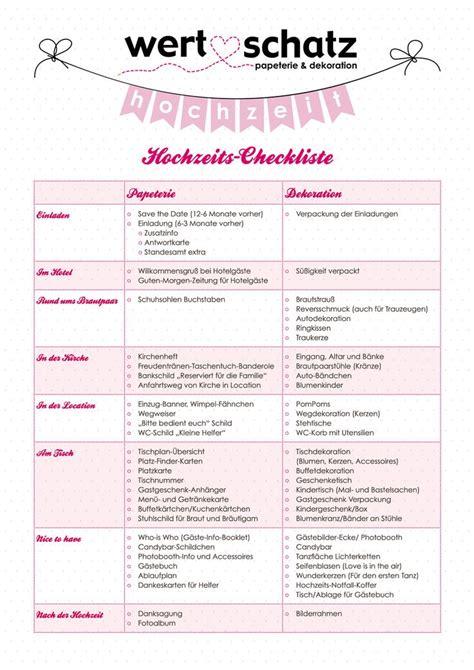 Hochzeit Checkliste by Best 25 Checkliste Hochzeit Ideas On Lieder