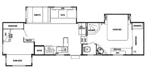 silverback 5th wheel floor plans 2008 cedar creek silverback fifth wheel series m 33lbhts