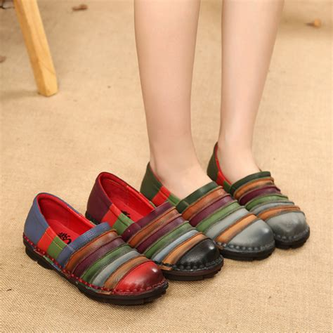 Flat Shoes Sneakers Colorfull Wl Sepatu Murah flats socofy genuine leather colorful comfortable flat loafers was listed for r1 764 40 on 6