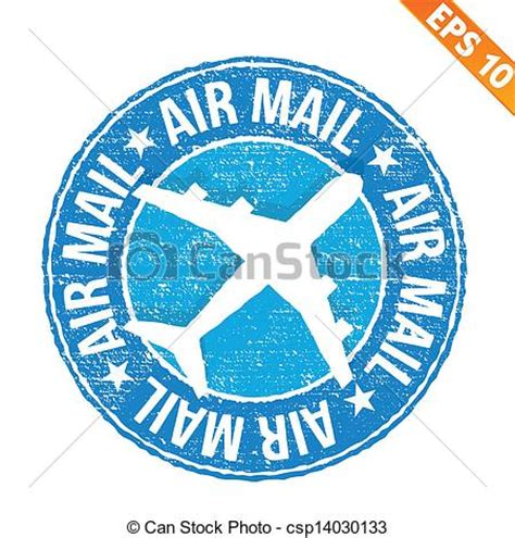 eps international mail vectors of st sticker air mail collection vector illustration csp14030133 search