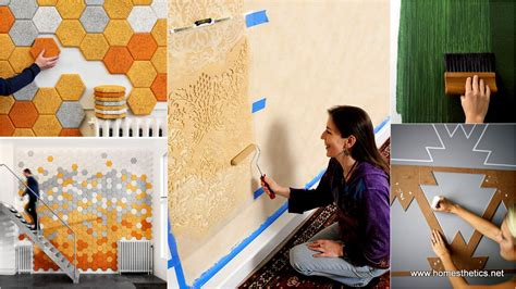 temporary diy wall treatment ideas  renters
