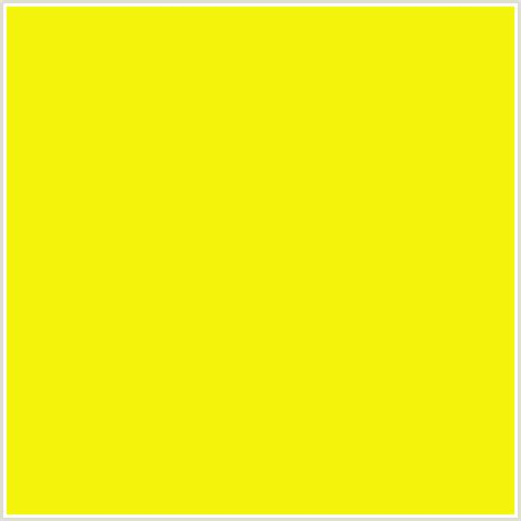 lemon yellow color f5f50c hex color rgb 245 245 12 lemon yellow green