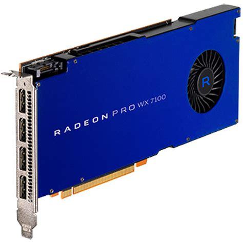 amd radeon pro wx 7100 graphics card 100 505826 b h photo