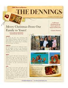 family newsletter template free best photos of family newsletter template