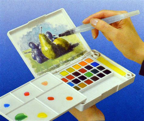 watercolor tutorial sakura koi sakura koi watercolors 24 color pocket field sketch box