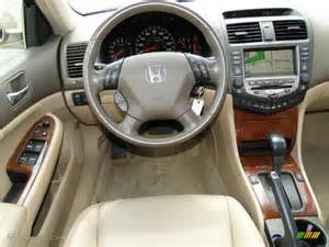 ivory interior 2007 honda accord hybrid sedan photo