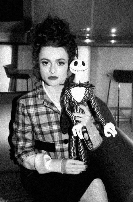 Helena Bonham Carter. She's British, not extremely famous