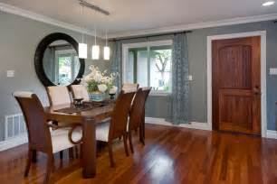 Dining Room Light Colors White Laminate Flooring Spaces Modern With View
