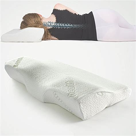 Sleeping Pillows For Back by Soft Memory Foam Bamboo Sleeping Pillow 24 4 Quot X14 Quot X4