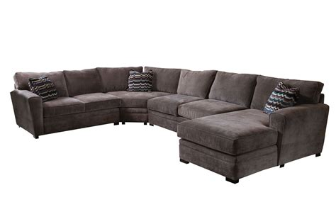 right arm sectional gypsy four piece right arm sectional