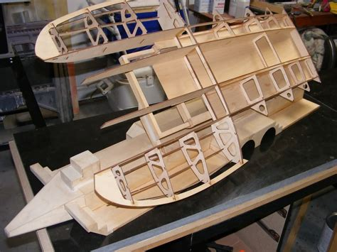 rc boats to build ml boatworks 1 8th scale hydro 8401 8700 build frame kit