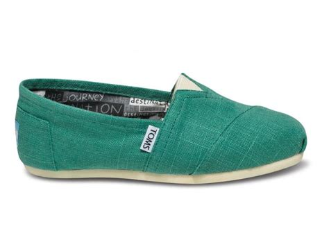 Shose F 26 bottle green toms simply me