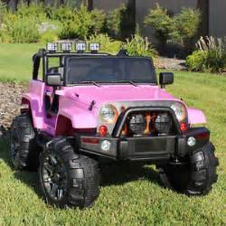 Power Wheels Jeep Truck Ride On Car 12v Power Wheels Jeep Truck Remote