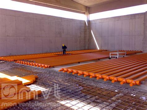 pavimento areato aerated floor mion ventoltermica