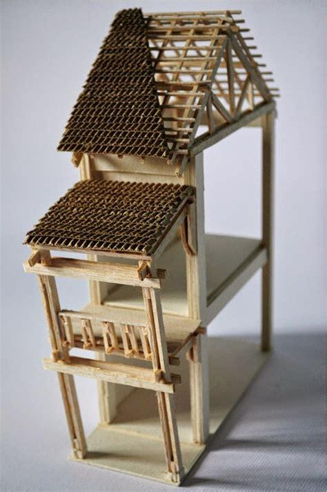kerajinan membuat rumah dari kayu contoh 11 kerajinan tangan unik dan mudah dibuat