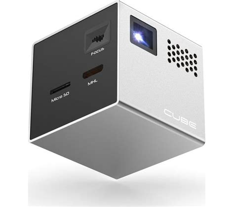 Proyektor Rif6 Cube Buy Rif6 Cube Mini Projector Free Delivery Currys