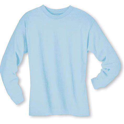 light blue long sleeve shirt womens hanes 5186 6 1 oz cotton long sleeve beefy t tee shirts