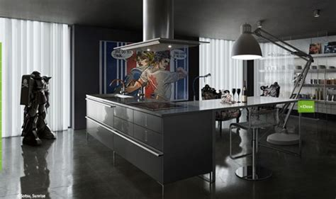 Sleek Kitchen Design Sleek Italian Kitchen Designs Classic Modern Interior Design