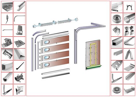 Garage Doors Accessories Parts Sectional Doors Parts Size Of Garage Doorsfrightening Garage Door Diagram Photo