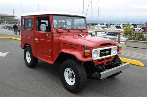 1980s toyota land cruiser for sale 1980 toyota land cruiser fj40 4x4 w only 63k
