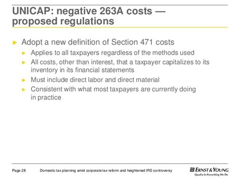 section 263a calculation section 263a costs 28 images form 3115 application for
