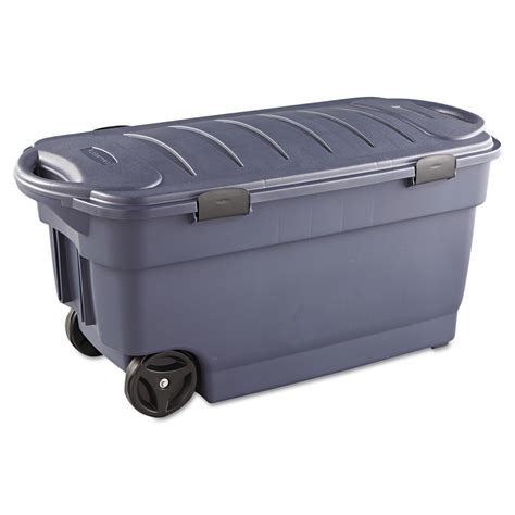 Rubbermaid Storage Containers With Drawers shop rubbermaid commercial products roughneck 42 3 in w x 20 6 in h x 21 3 in d indigo