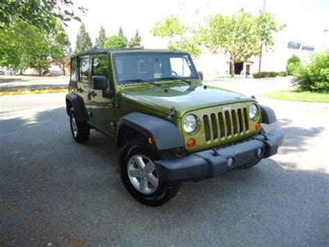 2007 Jeep Wrangler Weight 2007 Jeep Wrangler Unlimited X 4x4 Data Info And Specs