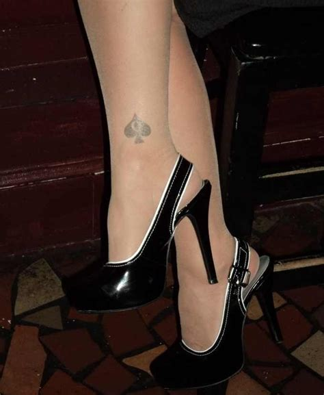hotwife tattoo of spades of spades
