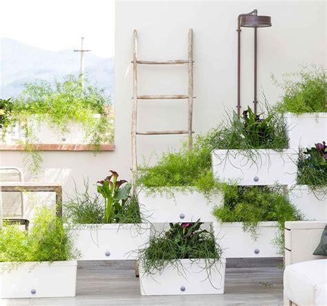 Stacked Planter Boxes by Stacked Planter Boxes Freestanding Vertical Garden