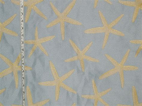 starfish upholstery fabric coastal life fabrics just listed 22 january 2014