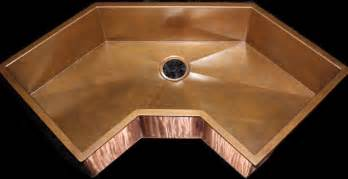 custom corner copper sink by rachiele eclectic kitchen