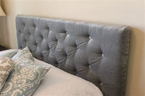 How To Make A Tufted Headboard With Buttons by Cakey Bubs Tufted Headboard