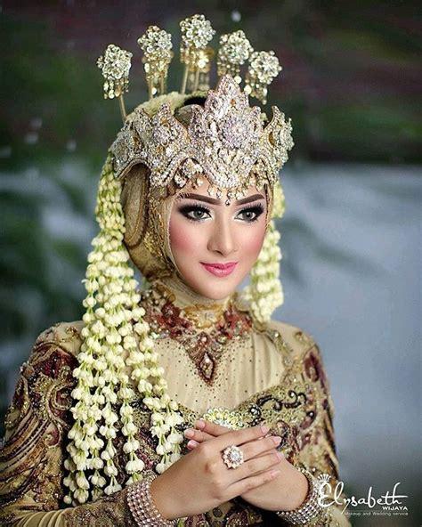 pengantin adat sunda hijab saubhaya makeup