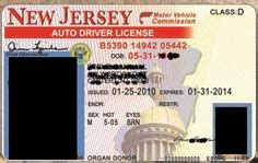 New Jersey Id Card Template by Template New Jersey Drivers License Template Photoshop