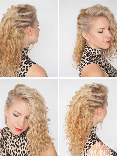 Easy Hairstyles For Curly Haired by 30 Curly Hairstyles In 30 Days Day 20 Hair
