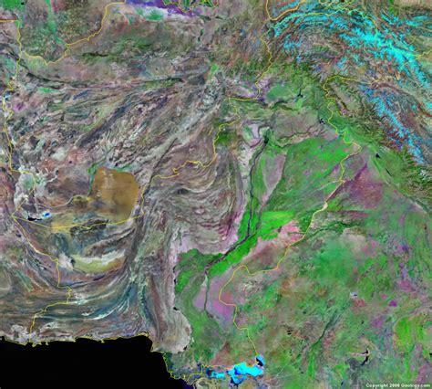 pakistan map satellite pakistan map and satellite image