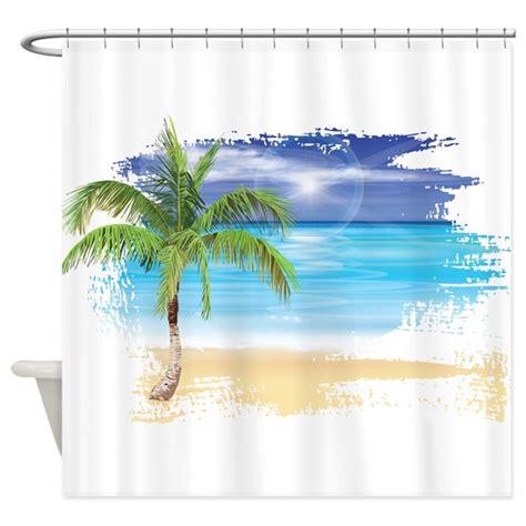 beach scene shower curtains beach scene shower curtain by underthesea2