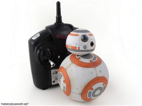 Toys Bb8 bb 8 droid remote controlled themodelmaker