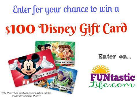 Free Disney Gift Cards - disney family movies free preview week 100 disney gift card giveaway funtastic life