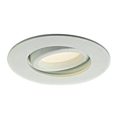 directional recessed led lighting illume lighting 3 37 in white recessed led directional