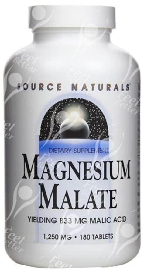 Malic Acid Aluminum Detox by Magnesium Malate Malic Acid 1250mg X180 Fibromyalgia Ebay