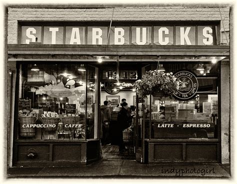 35 beautiful photograph of seattle kitchen store small the first starbucks in seattle washington 5x7 photograph