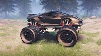 lamborghini sesto elemento monster truck spin tires