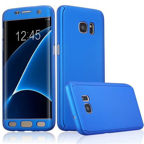 Samsung S7 Flat Baby Skin Ultra Slim atooz tm galaxy s7 edge 360 degree all around slim fit lightweight protective