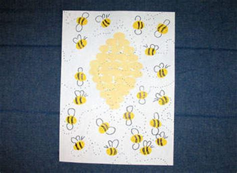 busy bee crafts 15 fingerprint crafts to do with your tricia goyer