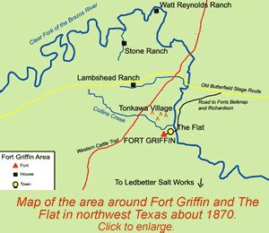 where is fort located in texas map only gt frontier forts