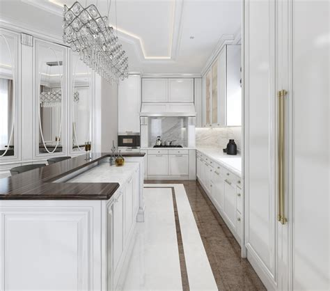 White Galley Kitchen Designs 35 Beautiful White Kitchen Designs With Pictures Designing Idea